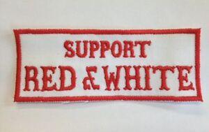 Hells Angels Support RED & WHITE Aufnäher Patch Big Red Machine 81 Support