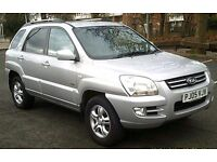 2005 KIA SPORTAGE XS WITH FULL SERVICE HISTORY AND 12 MONTHS MOT