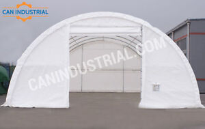 30x65x15 Portable Fabric Storage Building - BLOW OUT SALE!
