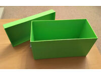 Bright green box - perfect for CDs