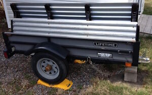 For Sale:  2008 Lifetime Folding Utility Trailer