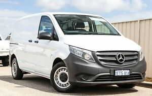 2015 Mercedes-Benz Vito 447 114BlueTEC SWB 7G-Tronic + White 7 Speed Sports Automatic Van Wangara Wanneroo Area Preview