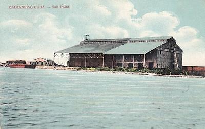 Antique Postcard C1911 Sail Point Caimanera  Cuba 18163