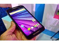 "Motorola Moto G 3rd Gen 4G **UNLOCKED ANY SIM** 5"" HD SCREEN Android smartphone"