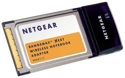NETGEAR WN511T RangeMax Next Wireless 300Mbps Notebook Adapter ()