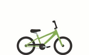 Kids Bike 18 inch frame for 6 and 7 year old, Bicycle girl boy