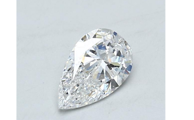 Natural Loose Diamond 0.80 Carats D Color VS2 GIA Certified Natural Pear Cut