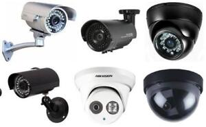 CCTV CAMERAS! We can SECURE your PROPERTY, BUSINESS, and OFFICE SPACE! CALL NOW! We have lots of stocks available!