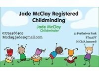 Childminder , childminding spaces available. Babysitter, childcare.