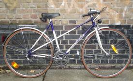 French vintage road ladies bike RAYMOND POULIDOR size 20in - LIKE NEW !! 10 speed, serviced WARRANTY