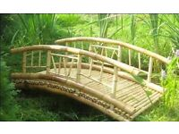 BAMBOO NIPA / KUBO huts for fun and socialising in your garden , sustainable ECO FRIENDLY