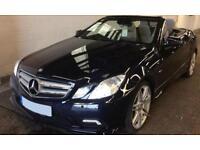 Mercedes-Benz E200 1.8 AMG LINE SPORT CONVERTIBLE FROM £74 PER WEEK!