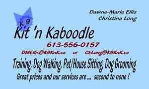 Kanine Kit 'n Kaboodle - Pet Services - 613-556-0157