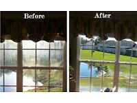 Window cleaning ,cleaning and garden services .