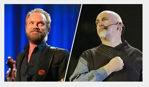 Sting with Peter Gabriel GREAT UPPER LEVEL IN ROW 4!