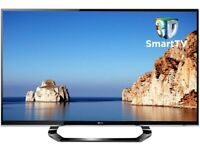 """NEW CONDITION* LG 42"""" 3D SMART LED TV ULTRA SLIM FULL HD 1080P+FREEVIEW INBUILT CHANNELS"""