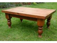 Rustic Antique pine coffee table