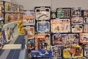 Cash Paid IN HAND for Star Wars items
