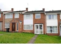 3 bedroom house with garage and private garden. Uvpc windows and gas central heating.