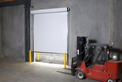 Durosteel Janus 9 Wide By 9 Tall 2000 Series Commercial Roll-up Door Direct