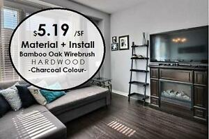$5.19 Hardwood Flooring and Installation - AMAZING DEAL