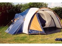 Family Tent. 2 bedrooms & living area and porch you can sit and cook under.