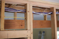 PROFESSIONAL WIRING AT LOW RATES! BASEMENT DEVELOPMENT SPECIAL!