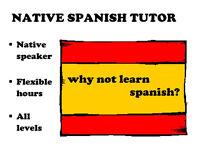 Native Spanish Tutor