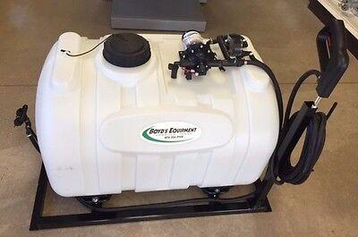 60 Gallon Skid Sprayer w/ 3 GPM 16' total boom-less spray