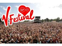 V Festival Hylands Park - Red Weekend Camping Ticket x1