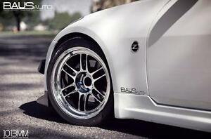 "Enkei RPF1 Staggered Wheels - 18"" 350Z / 370Z Fitment  ( * WheelsCo * )"