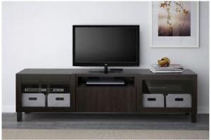 IKEA Dark Brown BESTA TV Stand