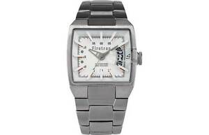 FIRETRAP MEN'S DARE DEVIL RECTANGULAR DIAL WATCH