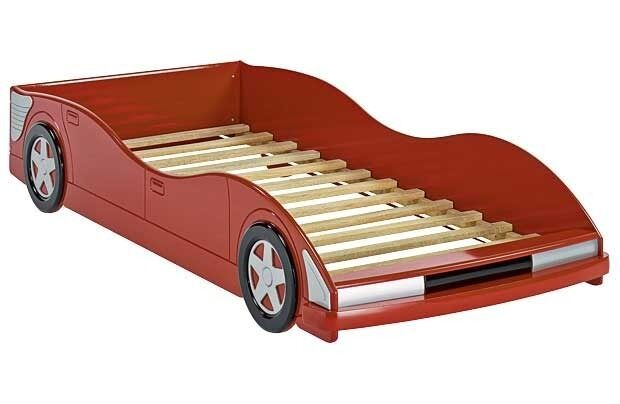 Argos Red Racing Car Single Kids Bed In Earls Barton