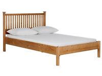 HOME Adalia Double Bed Frame - Oak