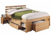 Double Bed Frame with Excellent Storage
