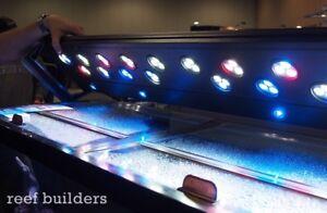 """Lumière aquarium DEL 48"""" / LED light fixture mixed reef aquarium"""