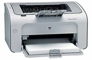 HP LaserJet P1005 Printer and toners