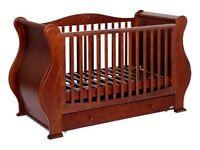 Tutti Bambini 'Louis' Cot bed in Walnut
