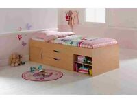 Short cabin bed