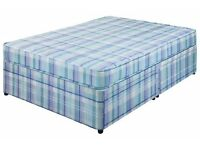 4'6 Eco Divan With Mattress Only £119 ( NEW )