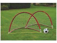 TWIN FLEXI FOOTBALL GOAL