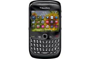 VODAFONE BLACKBERRY CURVE 8520 SMARTPHONE - BLACK