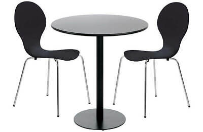 Habitat Kelby Metal Pedestal Bistro Table + 2 Bentwood Scout Chairs Chair Set for sale  Shipping to Ireland