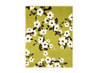 Brand new blossom green rug