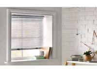 BRAND NEW IN BOX HEART OF HOUSE CORDLESS VENETIAN BLIND 3FT - ALUMINIUM W90, drop160cm W35.4,63in.