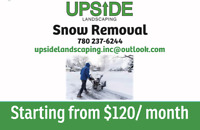 SNOW REMOVAL  - Starting at $120/ Month!!!!