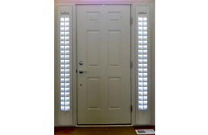 Plain Transparent Door Sidelight (Glass Only)