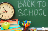 Is your child worried about starting back to school? We can help