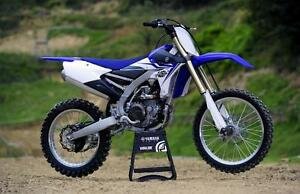 BRAND NEW YZ450F. NON-CURRENT BLOWOUT